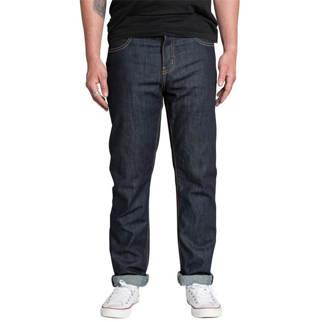 kalhoty KREW - K Slim Raw Blue (RAW)