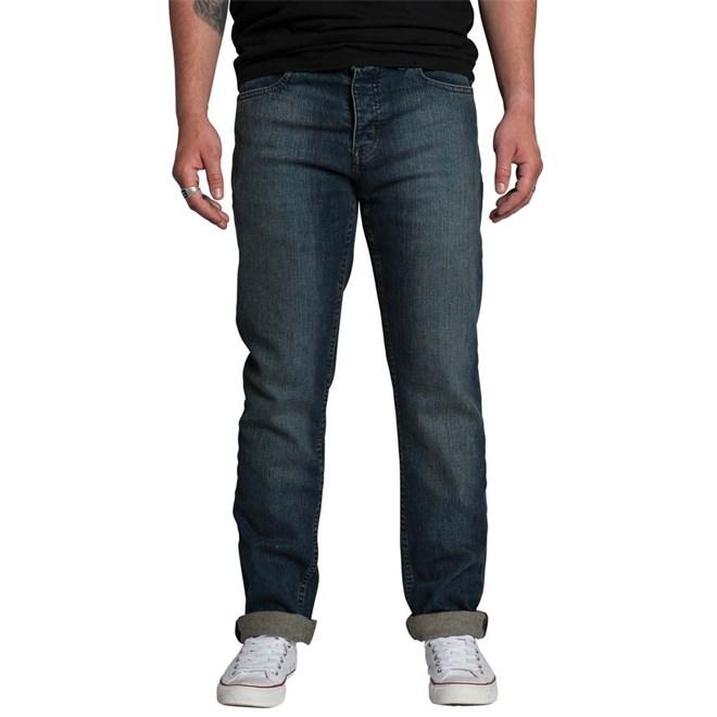 kalhoty KREW - K Slim Vintage Blue (IND)