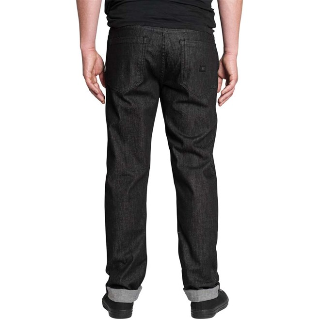 kalhoty KREW - K Standard Black Rinse (BLD)