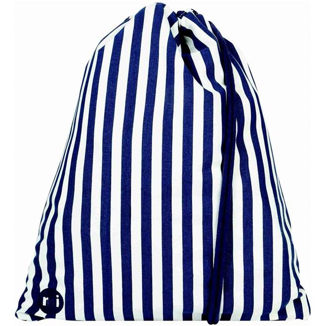 gymsack MI-PAC - Kit Bag Seaside Stripe Blue (017)