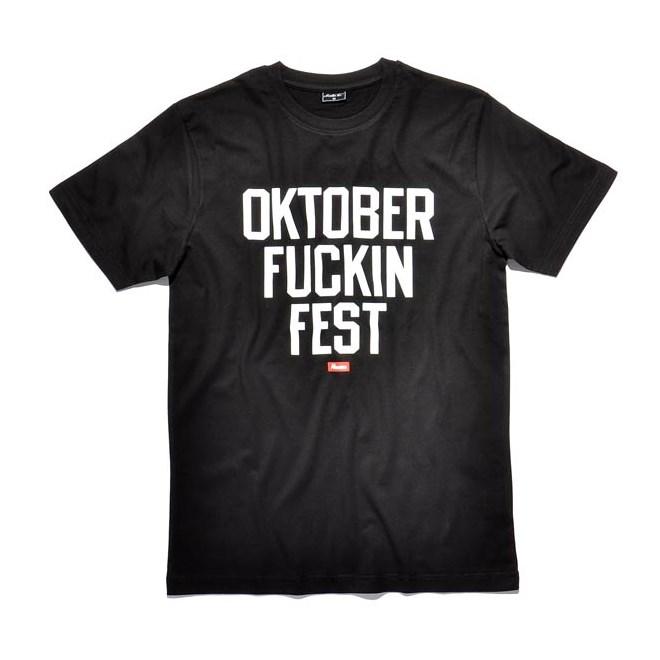 triko KREAM - Fuckin Fest Black (0001)