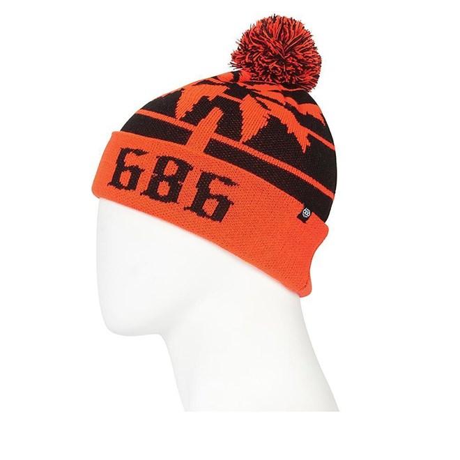83cbcb4205328 czapka zimowa 686 - Throwback Pom Beanie Infrared (IFRD) | SNOWBITCH.PL