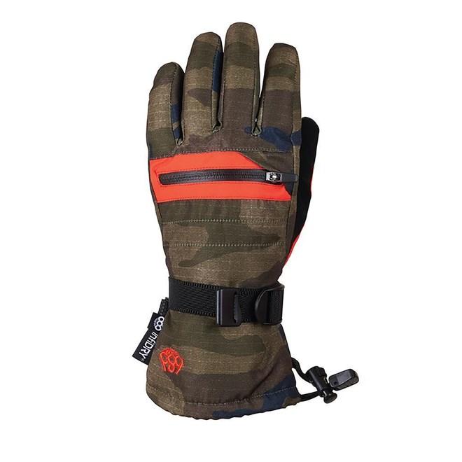 rukavice 686 - Youth Heat Insl Glove Dark Camo (CAMO)