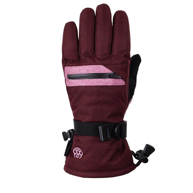 rukavice 686 - Youth Heat Insl Glove Wine Melange (WNE)