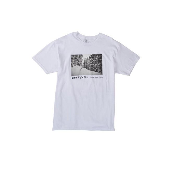 triko 686 - Landscape S/S T-Shirt White (WHT)