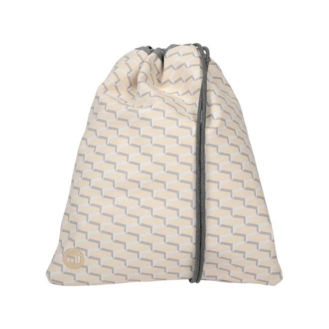 gymsack MI-PAC - Kit Bag Links Cream/Grey (007)