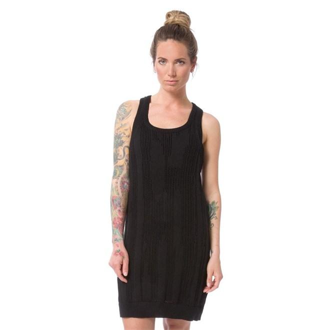 šaty NIKITA - Kvinna Jet Black (BLK)