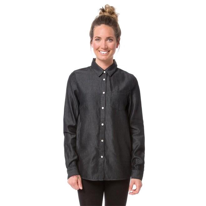 košile NIKITA - Leeward Jet Black (BLK)