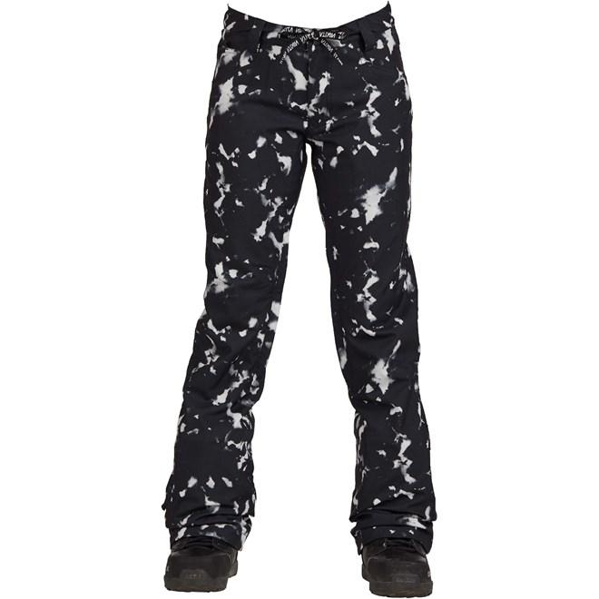 spodnie NIKITA - Cedar Pant Black And White Light (BWL)