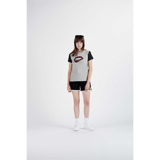 Tshirt NIKITA - Bragg Ss Tee Athletic Heather Grey (AGH)