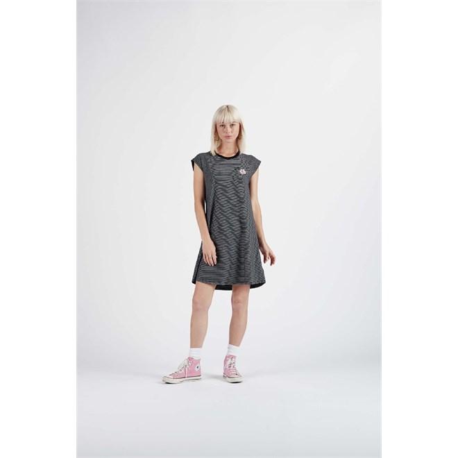 šaty NIKITA - Curfew Dress Black (BLK)