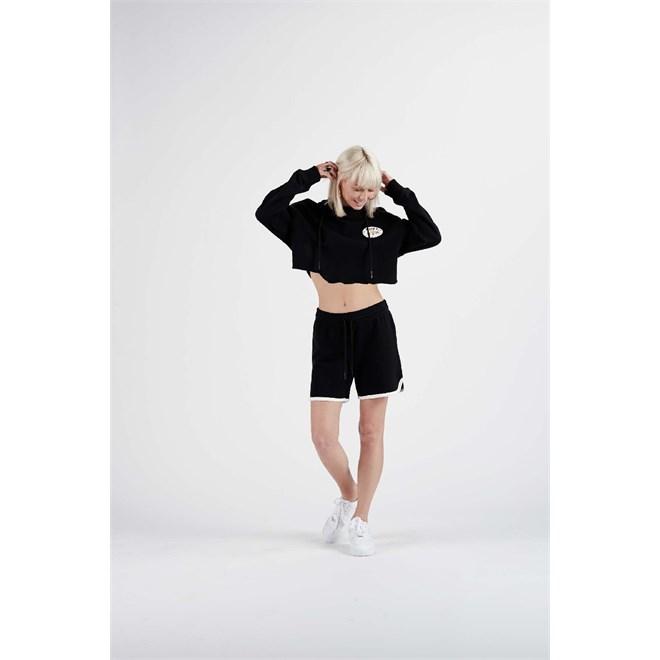 Sweatshirt NIKITA - Echo Rose Po Hoodie Black (BLK)