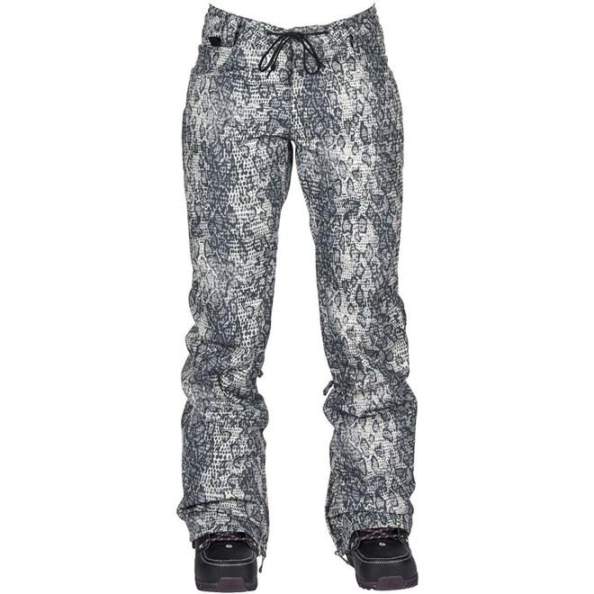 kalhoty NIKITA - Cedar Pant Snakeskin Black And White (SNA)