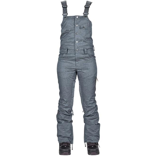 kalhoty NIKITA - Evergreen Stretch Denim Bib Blue (BLD)