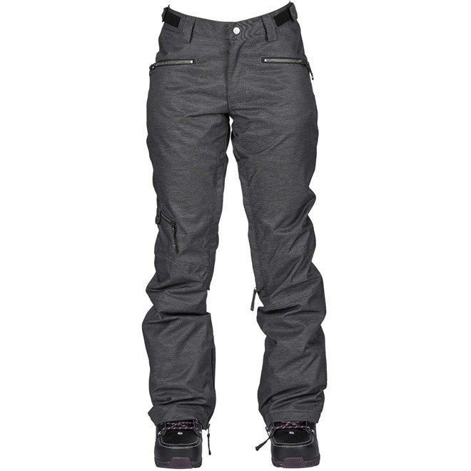 kalhoty NIKITA - White Pine Pant Black (BLK)