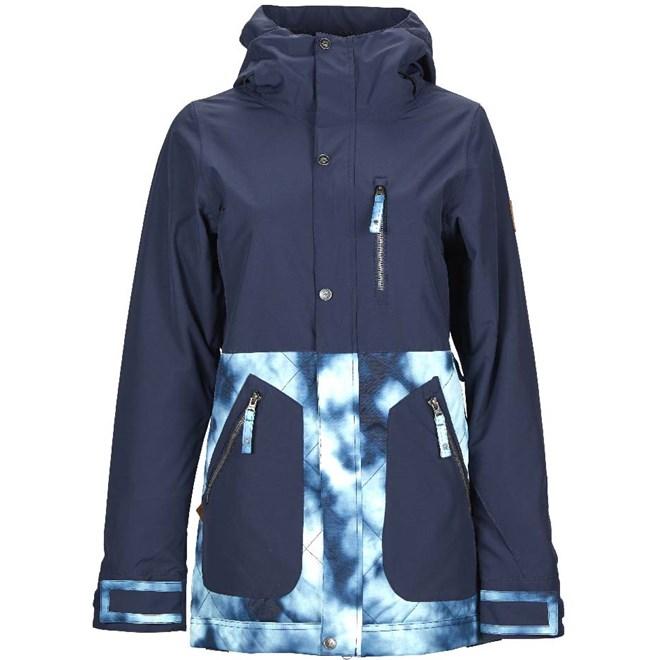 bunda NIKITA - Sycamore Jacket Navy- Tie Dye (NVY)