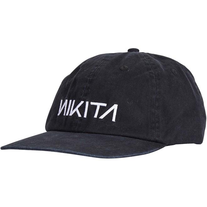 kšiltovka NIKITA - Pops Cap Black (BLK)