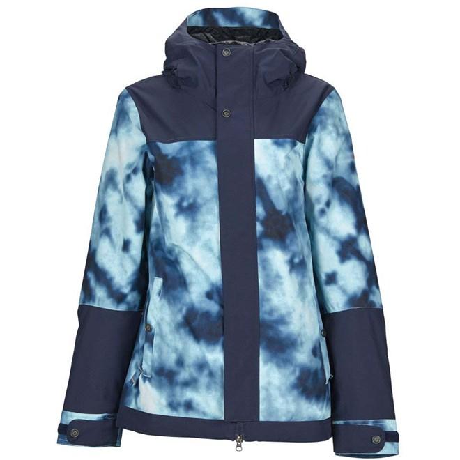 bunda NIKITA - Sequoia Jacket Tie Dye- Navy (TIE)