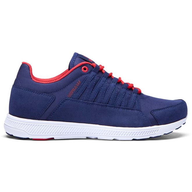 boty SUPRA - Owen Navy/Red-Off White (NVY)