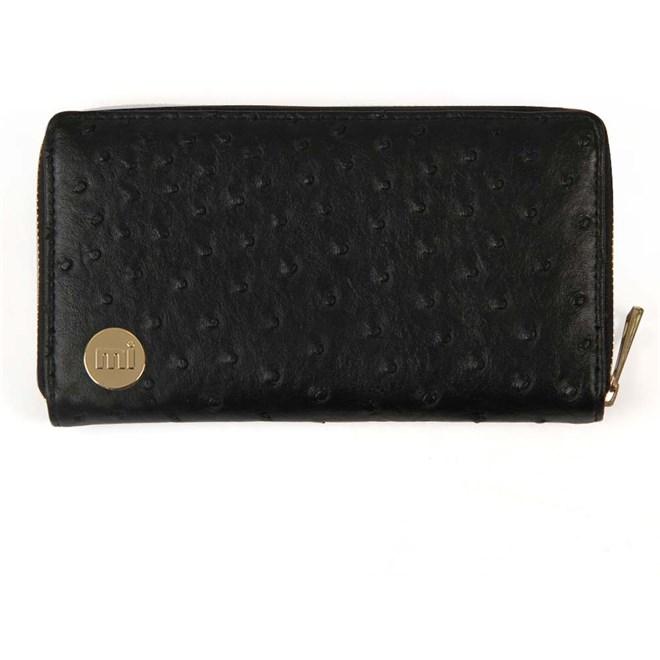 peněženka MI-PAC - Zip Purse Ostrich Black (006)