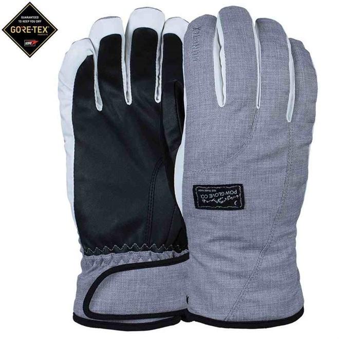 rukavice POW - Ws Crescent GTX Glove Grey (Short) (GY)