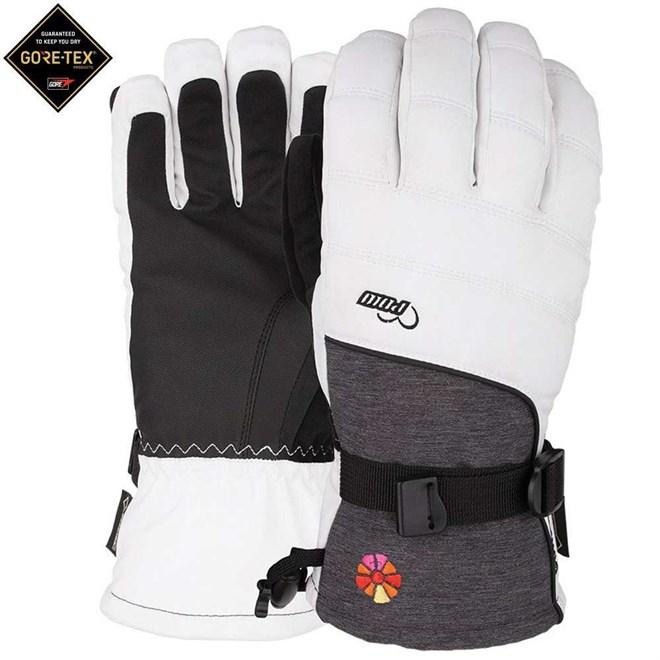 rukavice POW - Ws Falon GTX Glove White (B4BC) (Short) (WH)