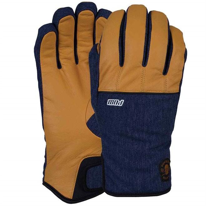 rukavice POW - Villain Glove Tobacco (Long) (TO)