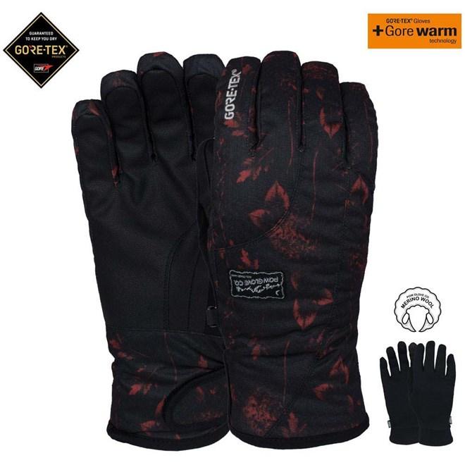 rukavice POW - Ws Crescent Gtx Short Glove Nightfall (NF)