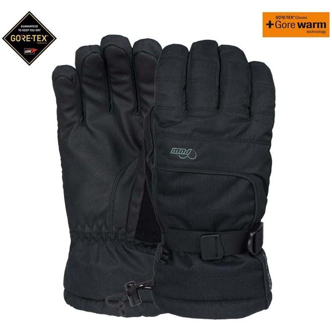 rukavice POW - Ws Falon Gtx Glove +Warm Black (BK)