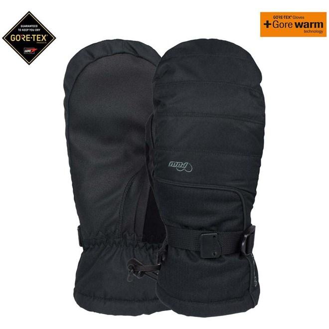 rukavice POW - Ws Falon Gtx Mitt + Warm Black (BK)