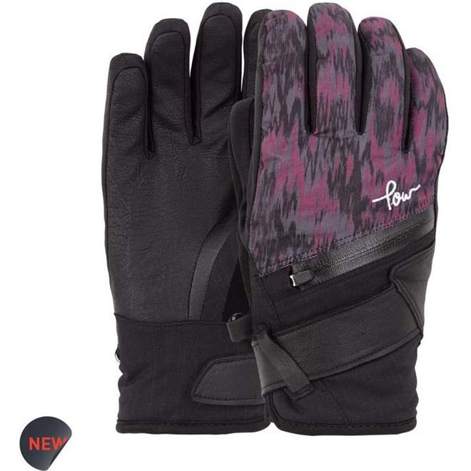 rukavice POW - Ws Astra Glove Plum  (PL)