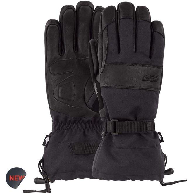 rukavice POW - August Gauntlet Glove Black (BK)