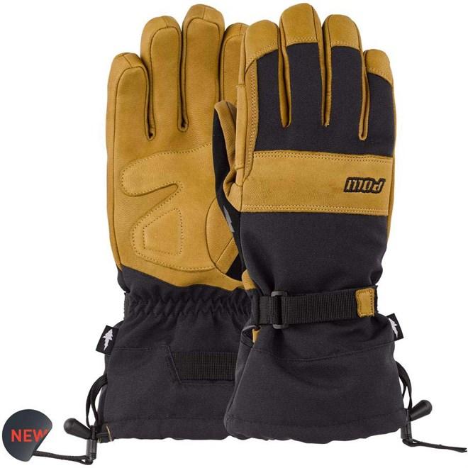 rukavice POW - August Gauntlet Glove Buckhorn Brown (BB)