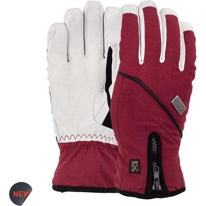 rukavice POW - Ws Gem Glove Red (RD)