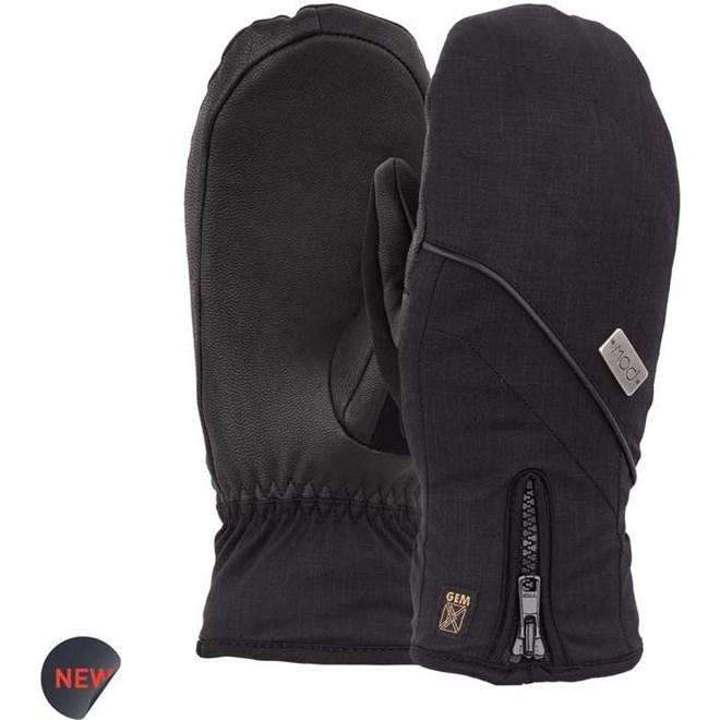 rukavice POW - Ws Gem Mitt Black  (BK)
