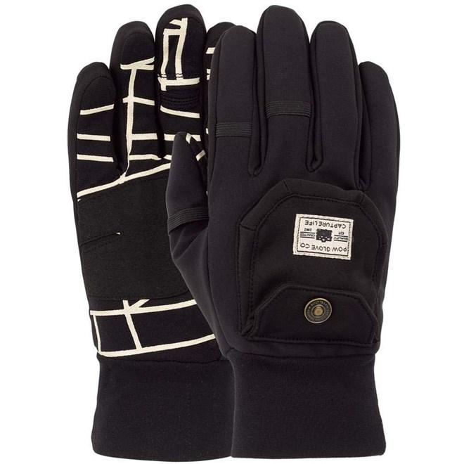 rukavice POW - Pho-Tog Glove Black (BK)