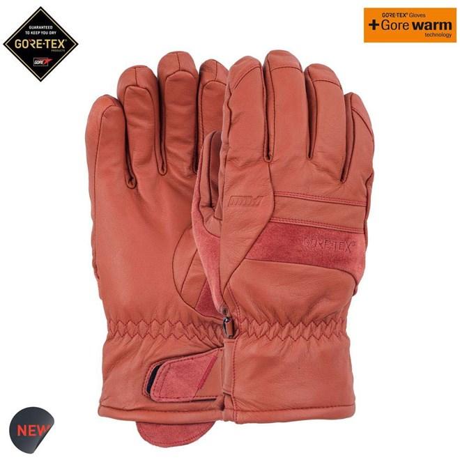rukavice POW - Stealth GTX Glove + WARM Auburn (AU)