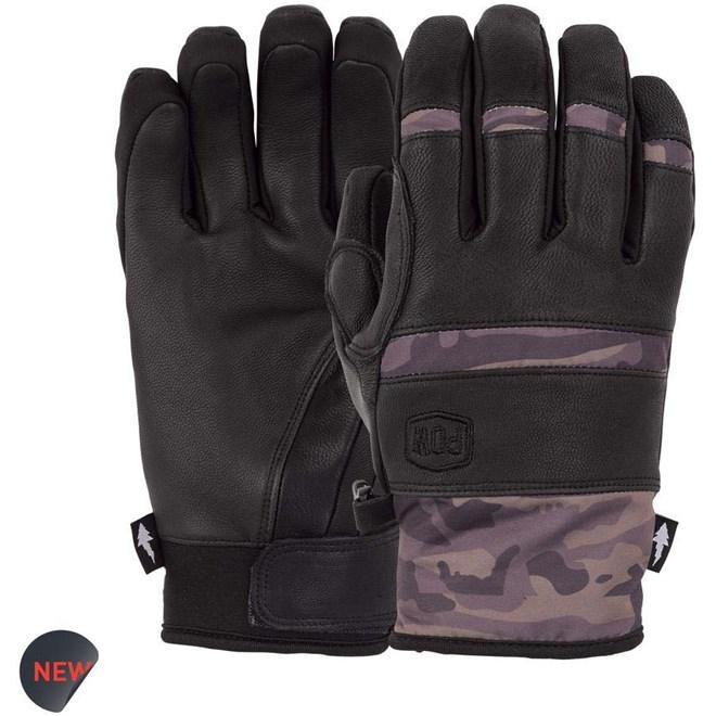 rukavice POW - Villain Glove Camo (CM)