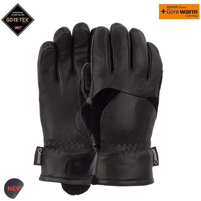 rukavice POW - Ws Stealth GTX Glove + WARM Black (BK)