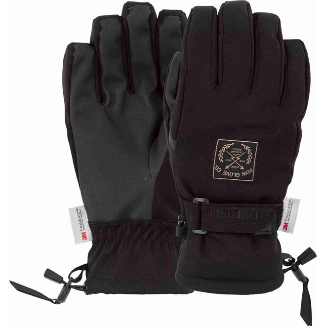 rukavice POW - Xg Mid Glove Black (BK)