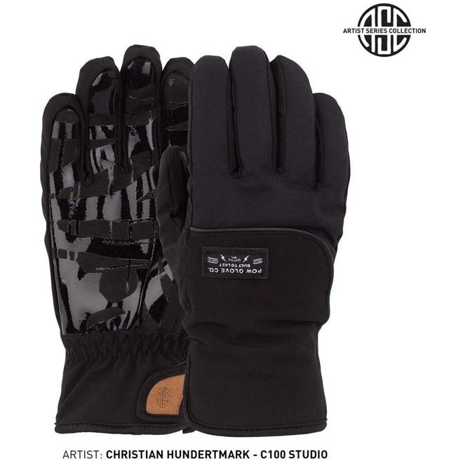 rukavice POW - Zero Glove Black  (BK)