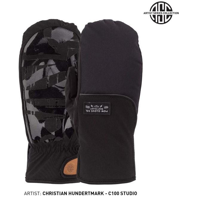 rukavice POW - Zero Mitt Black  (BK)