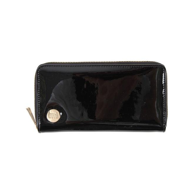 peněženka MI-PAC - Zip Purse Patent Black (032)