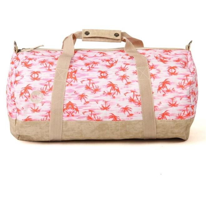 taška MI-PAC - Nd Duffel Pink Palms (008)