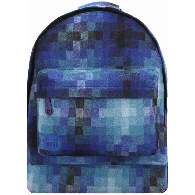 batoh MI-PAC - Pixel Check Blue (041)