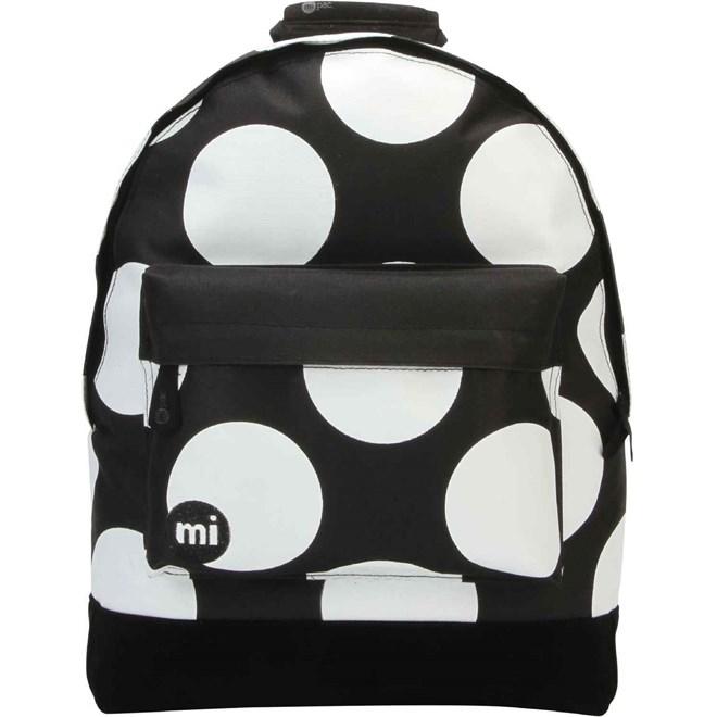 batoh MI-PAC - Polka XL Black/White (003)