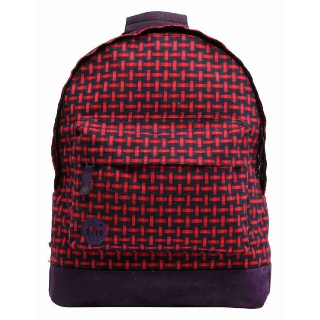 batoh MI-PAC - Basket Weave Navy/Red  (100)