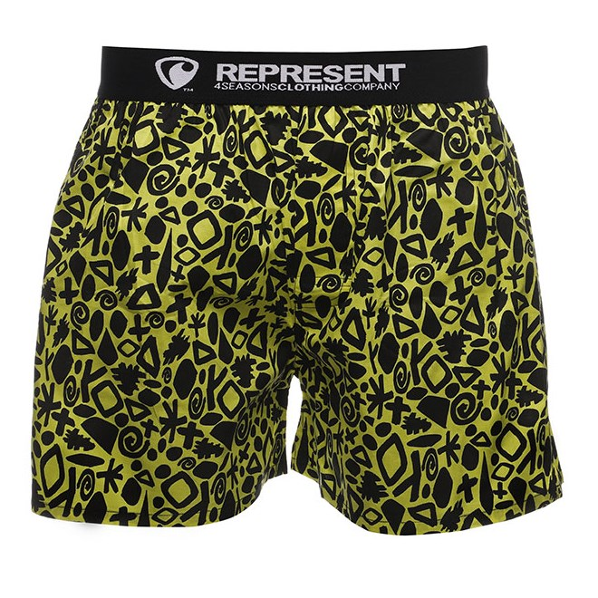 Shorts REPRESENT - Exclusive Mike Abstract Jesus (748)