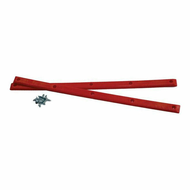 lišty PIG WHEELS - Rails Red (RED)