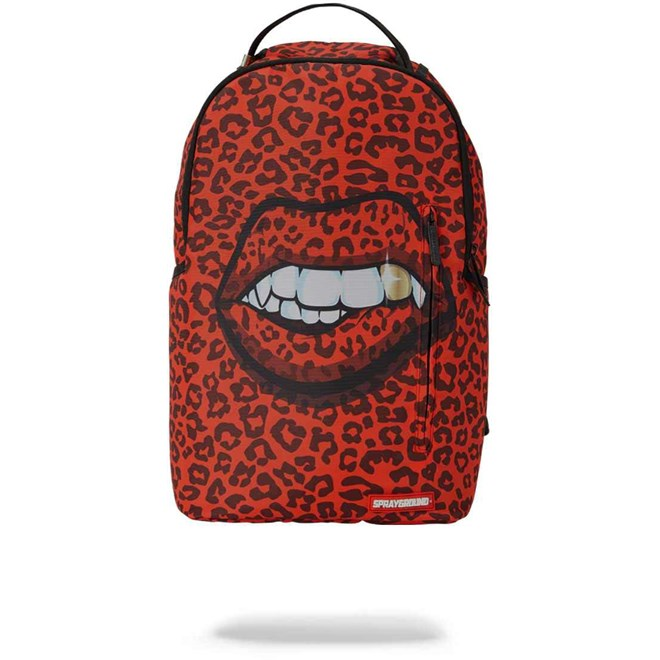 Rucksack SPRAYGROUND - Red Leopard Lips Backpack (MULTI)